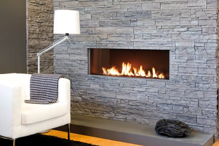 flat fireplace. linear fireplace. modern fireplace design. direvt vent  fireplace. Element4