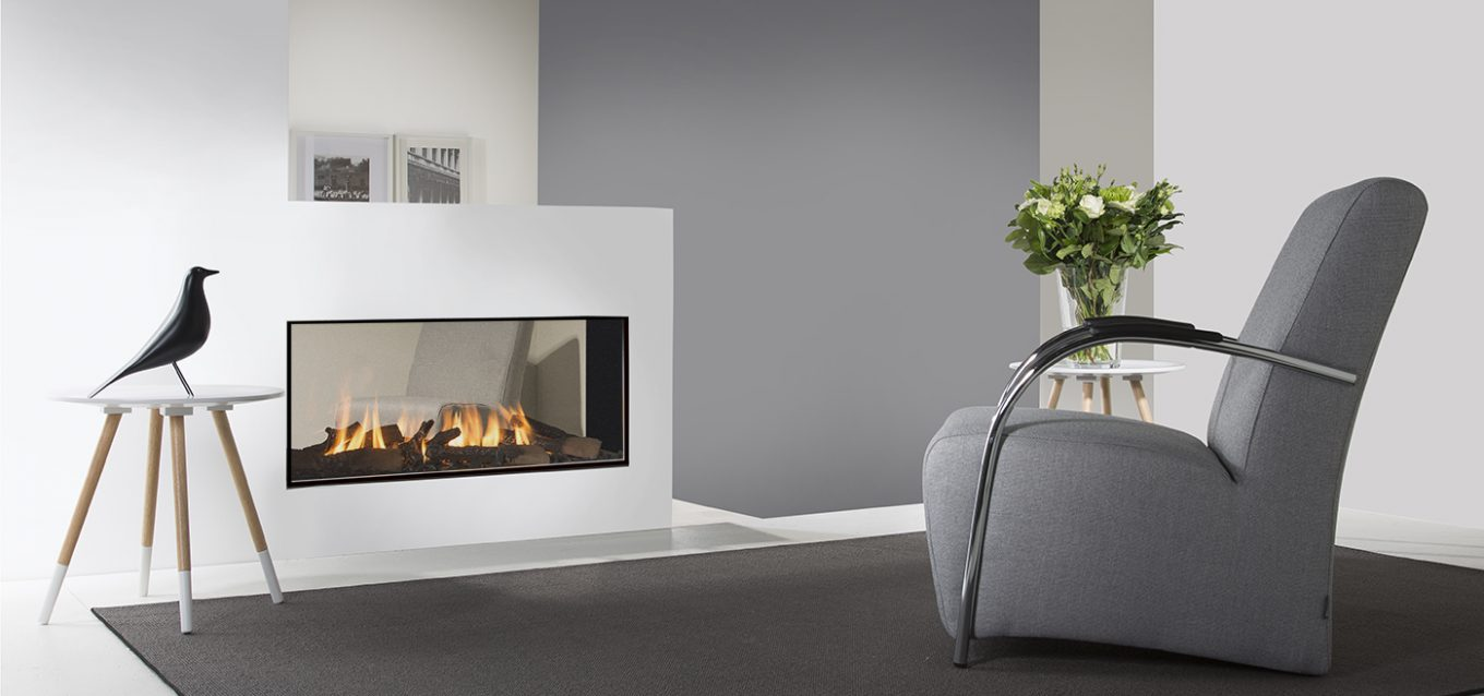 tenore100 by element4 see through fireplace direct vent gas